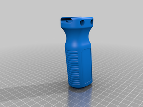 Pitched Vertical foregrip