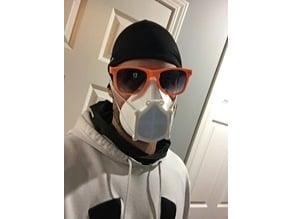 Low-fi Covid Respirator Mask - 3D Universe Remix