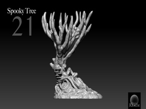 Mystic-Realm's Spooky Tree 21 Ironwood Forest