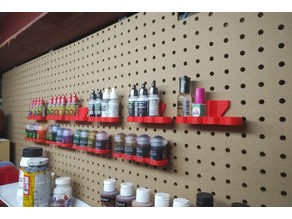 Vallejo/Army Painter Paint Pegboard Holder