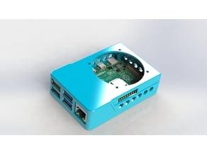 Raspberry Pi 4 B GPIO / Octoprint Ready Case! Includes Slim Top & VESA Mount!