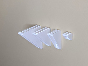 Mount Brick: LEGO® Compatible Brick Wall Mounts