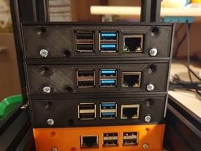 6'' Rack RPi 4 backplate