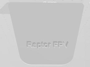 FPV Raptor V2 Front plate