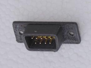"""DB9 male socket (just add 0.1"""" header)"""