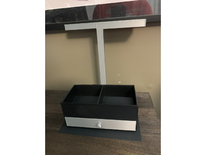 Alcohol / Acetone Caddy w/Storage Drawer and Towel Rack