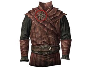 Skyrim - Vampire Armor Lapel Pin