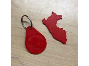 Peruvian keychain
