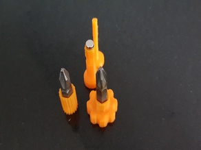 Magnetic mini screwdriver handles