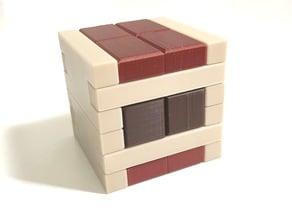 Gargamel - Interlocking puzzle by Alfons Eyckmans