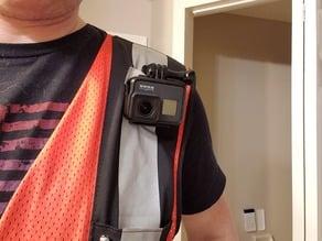 GoPro Safety Vest Mount With Angle Adjuster