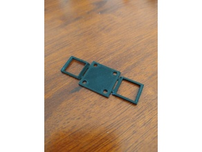 2x 1S battery holder for 16x16 mounting holes