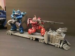 1/100 Gundam Samson Truck
