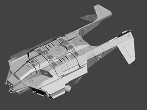 Pimped Raven Darkstar Fuselage
