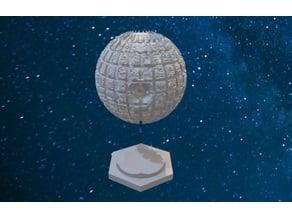 Star Trek Borg Sphere modified with base Catan