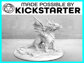 Dragonling - Casual Pose - Tabletop Miniature