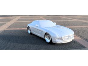SLS AMG Merc for OpenZ V5 Drift 98mm