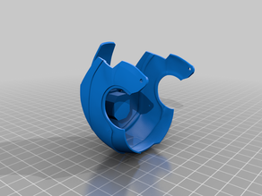 High_Poly Update to Mechanical Iron man SD Card Holder by ExtraChegg