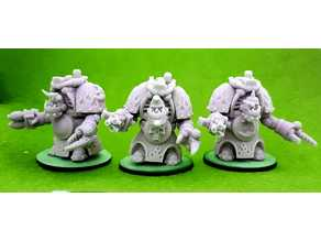 Space Orcs in snazzy armour