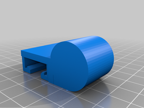 Round Light holder for Ender 3 v2 (21.1mm)