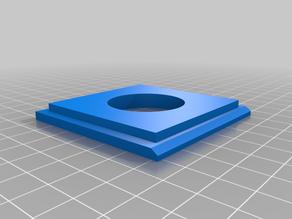 Lensboard for Graflex Miniature Speed Graphic
