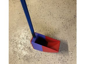 Trench Emptying Scoop (Customizable)