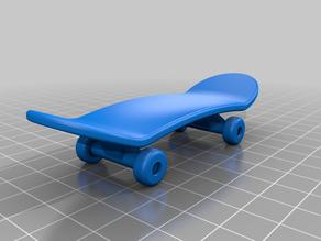 Mini Skate Board (Actually rolls)