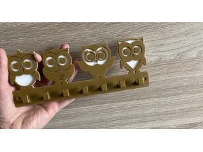 Owls Keys Holder