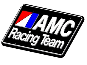 AMC Racing License Plate