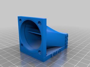 Conduit ventil Creality Ender 3 / CR10 pour fan 40x40