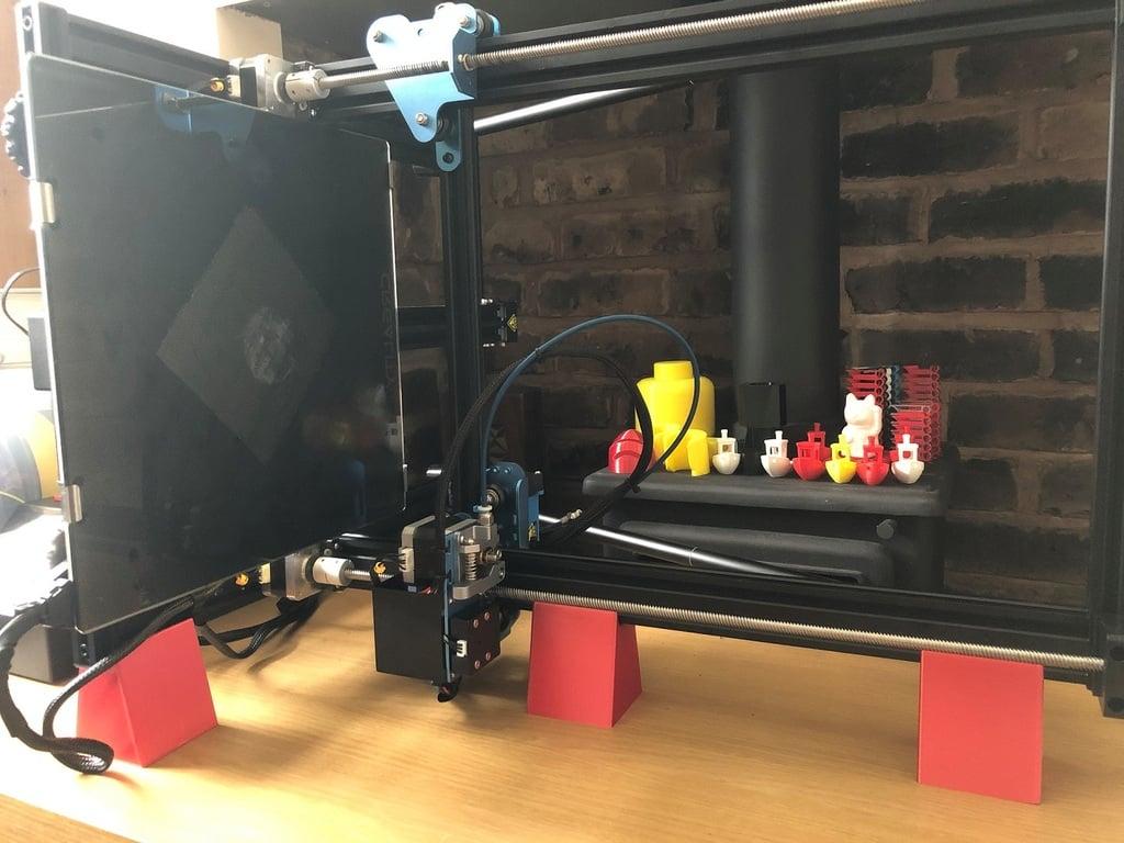 3d Printer Frame maintenance side support stands (ButDim style)