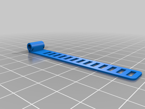 USB-Cable tie clip on (TPU) Hook on Back