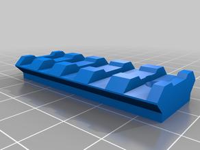 Nerf side picatinny rail