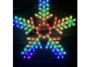 5 Spoke 100 pixel Snowflake