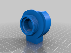 Filler Adapter for Wanhao D6 / Monoprice Maker Ultimate