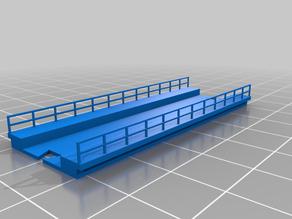 Bridge for Z scale model train. Simple. System OLL.