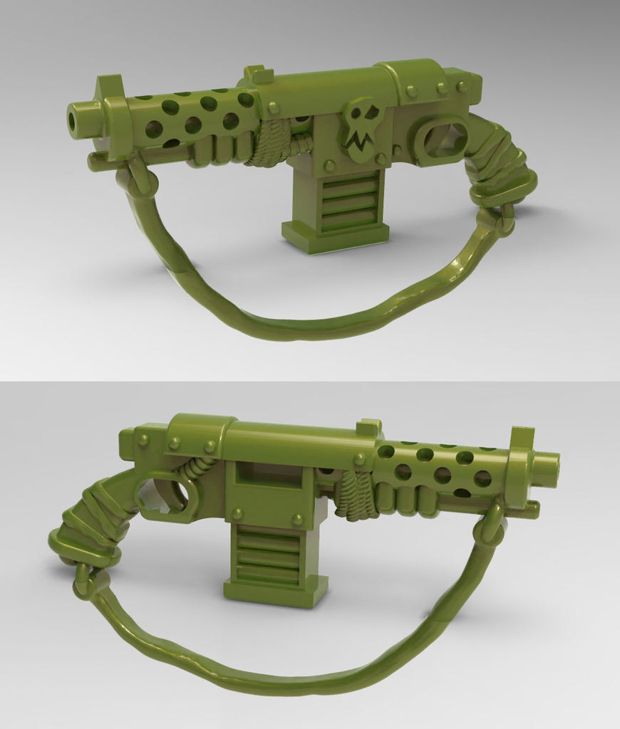 Ork Stub Gun / Orc Stubber Rifle - 28mm