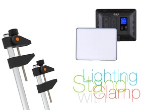 Lighting Stand with Clamp