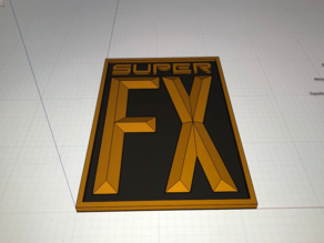 Super Nintendo - Super FX Logo