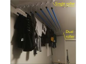 Rollers for Clothes Drying Rack