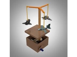 Automata Airplane Mobile Set