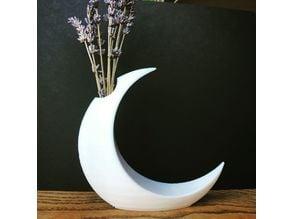 Minimalist Moon Vase