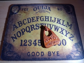 Planchette for Ouija board