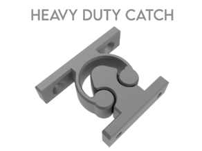 Door Retaining Catch Heavy Duty