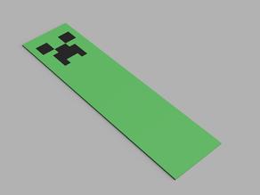 Minecraft Creeper Bookmark Multimaterial (MMU)