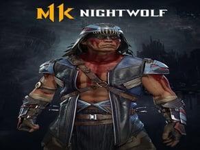 Mortal Kombat 11 Nightwolf Axe