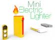 Mini briquet électrique