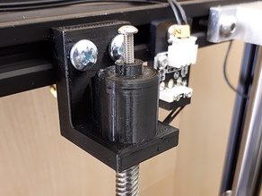 Ender-5 Z-axis brake with spring (no deformation of the trapezoidal screw)