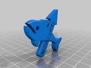 Harpoon, Spear Gun Keychain