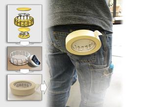 Magnetic Tape Roll Holder